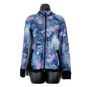 Lululemon Ivivva Girl Galaxy Space Full Zip Jacket